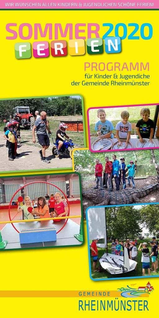 Ferienprogramm Rheinmünster 2020