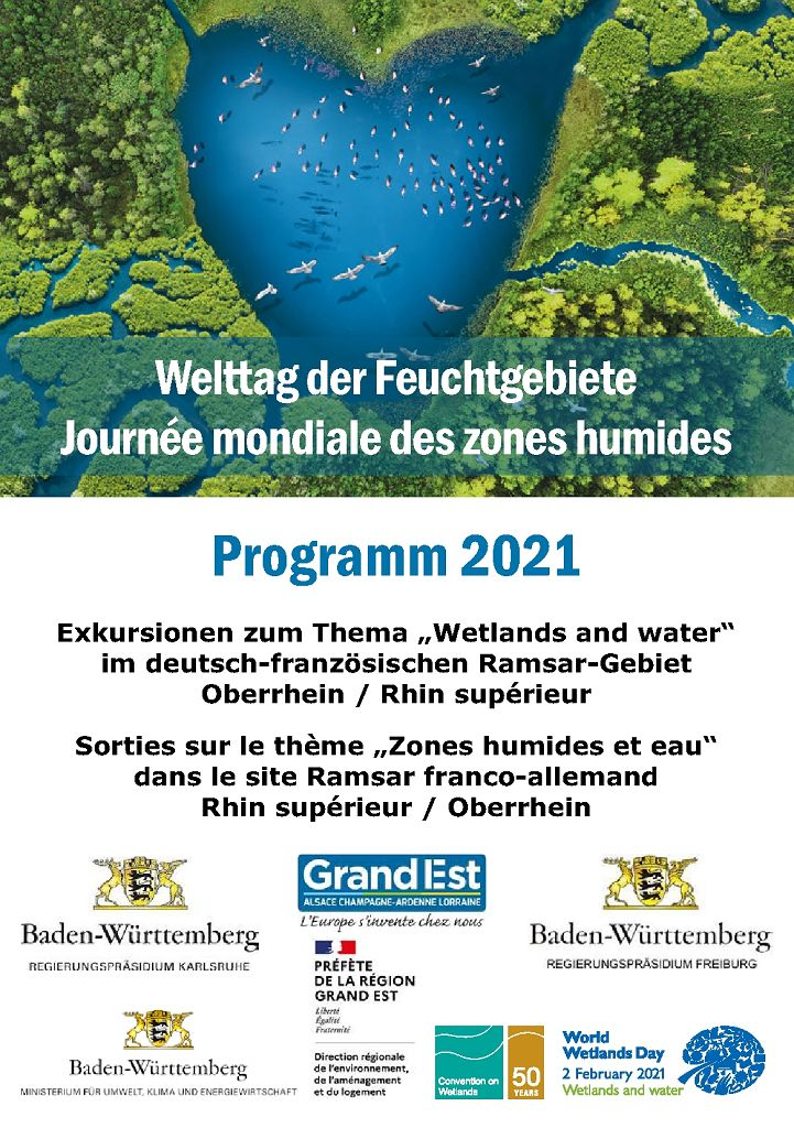 Exkursionsprogramm zum Welttag der Feuchtgebiete 2021